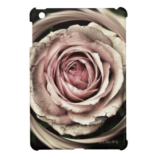 HAMbyWG iPad Mini Glossy  Case - Distressed Rose iPad Mini Covers