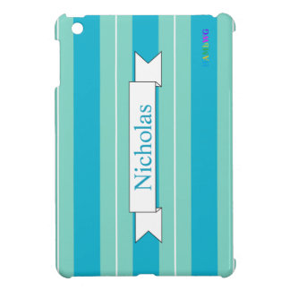 HAMbyWG iPad Mini Glossy Hard Case - Aqua Cover For The iPad Mini