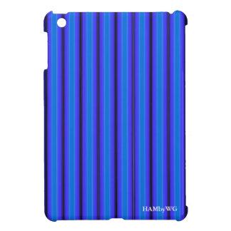 HAMbyWG iPad Mini Glossy Hard Case - Blue Glow Cover For The iPad Mini
