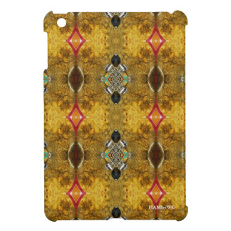 HAMbyWG iPad Mini Glossy Hard Case - Cherry Burl iPad Mini Cases