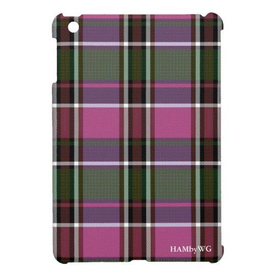 HAMbyWG iPad Mini Glossy Hard Case - Pnk/Gr/Prp iPad Mini Case