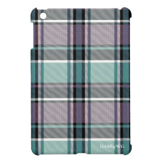 HAMbyWG iPad Mini Glossy Hard Case - Teal/Purple iPad Mini Case