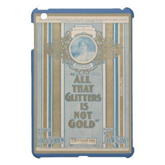 HAMbyWG iPad Mini Hard Case - Al That Glitters Cover For The iPad Mini