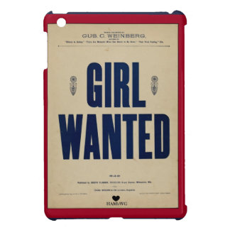 HAMbyWG iPad Mini Hard Case - Girl Wanted iPad Mini Cover