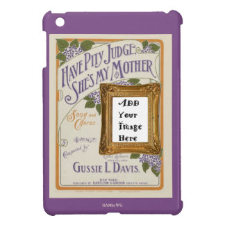HAMbyWG iPad Mini Hard Case - Have Pity Judge iPad Mini Cover