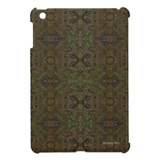 HAMbyWG - iPad Mini Hard Case -Olive Persian Case For The iPad Mini