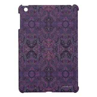 HAMbyWG - iPad Mini Hard Case - Purple Persian Case For The iPad Mini