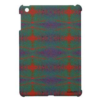 HAMbyWG - iPad Mini Hard Glossy Case - GR/PRPL/R iPad Mini Case