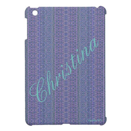 HAMbyWG - iPad Mini Hard Glossy Case - Lilac NP iPad Mini Case