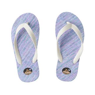 HAMbyWG Kid's Flip-Flops - Lilac Mix Kid's Flip Flops