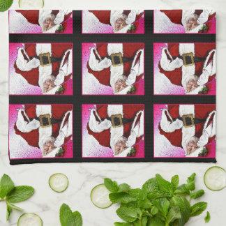"HAMbyWG - Kitchen Towel 16"" x 24"" - Santa Claus"