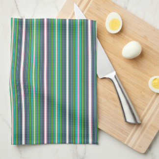 HAMbyWG - Kitchen Towels - Navy, White, Lime ++