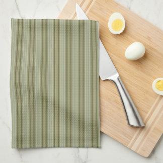HAMbyWG - Kitchen Towels -Olive Stripes