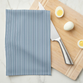 HAMbyWG - Kitchen Towels - Soft Teal Stripes