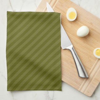HAMbyWG - Kitchen Towels - Two Tone Small Stripes
