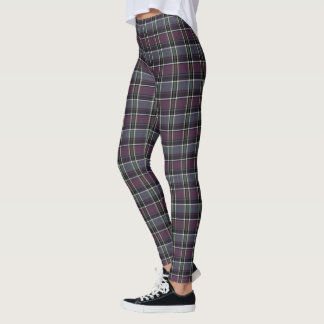 HAMbyWG - Leggings - Amethyst Plaid
