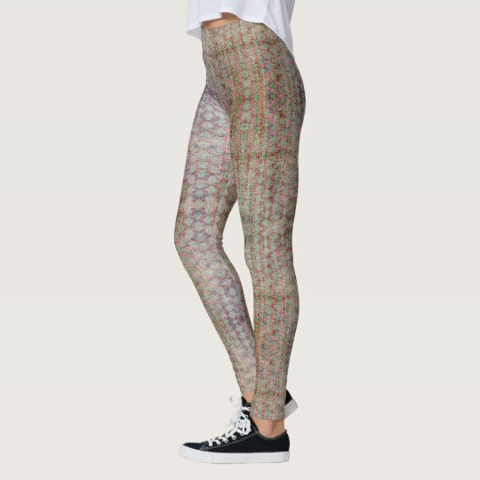 HAMbyWG - Leggings - Zig Zag Distressed Colourful