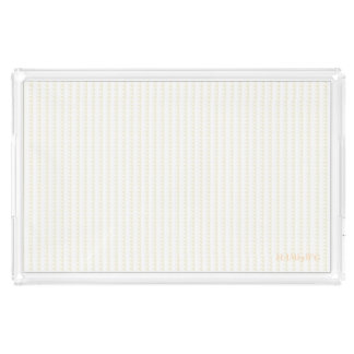 HAMbyWG - Lg Acrylic Tray -White or Any Color/SZ