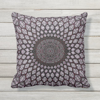 HAMbyWG - Lumbar Pillow - Indian Ink Cherry
