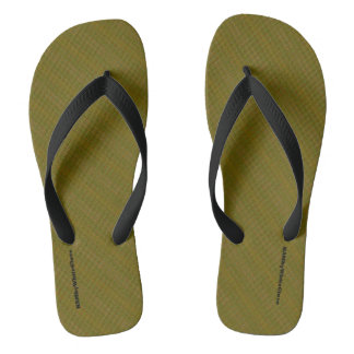 HAMbyWG - Men's Flip Flops - Olive Mix