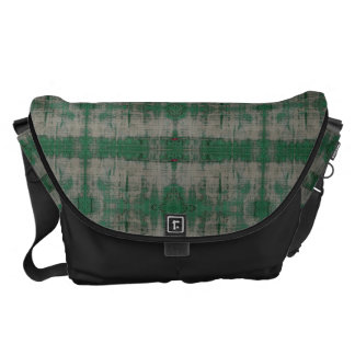 HAMbyWG - Messenger Bag - Distressed Green Black