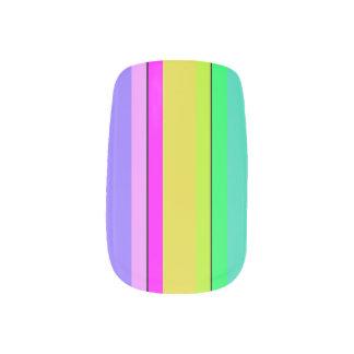 HAMbyWG - Minx Nail Wraps - Soft Rainbow