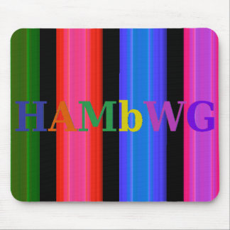 HAMbyWG - Mouse Pad - 4 Color Glowing Stripe