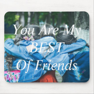 HAMbyWG - Mouse Pad - Best of Friends
