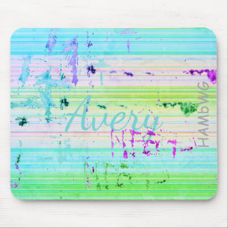 HAMbyWG - Mouse Pad - Distressed Pastel Stripe