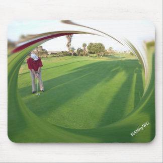 HAMbyWG - Mouse Pad - Golfer