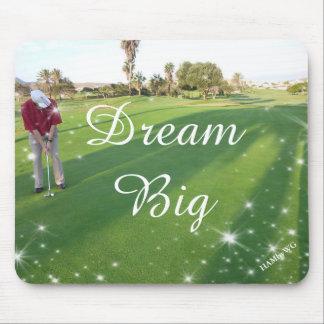 HAMbyWG - Mouse Pad - Golfer Dream Big