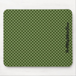 HAMbyWG - Mouse Pad - Green Checker