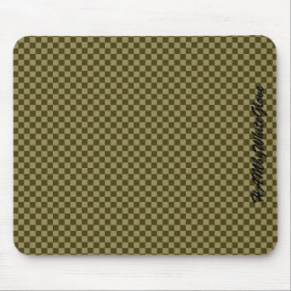 HAMbyWG - Mouse Pad - Olive Checker