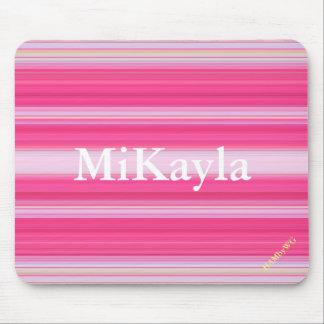 HAMbyWG - Mouse Pad - Pink Random Stripes