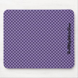 HAMbyWG - Mouse Pad - Purple Checker