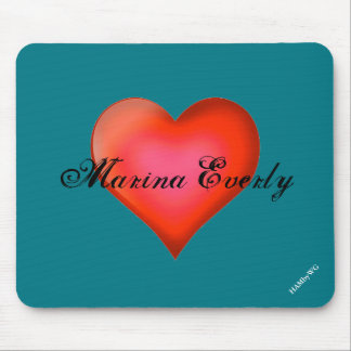 HAMbyWG - Mouse Pad - Red Heart