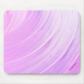 HAMbyWG - Mouse Pad - Violet Pink Ice Swirl