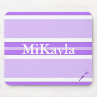 HAMbyWG - Mouse Pad - Violet Stripe Wide