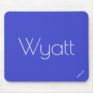 HAMbyWG - Mouse Pad - Wyatt