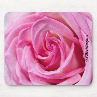 HAMbyWG Mouse Pads - Pink Rose
