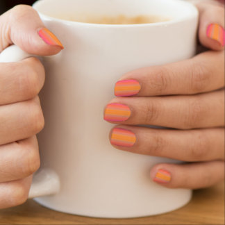 HAMbyWG - Nail Decals - Pink Sunset