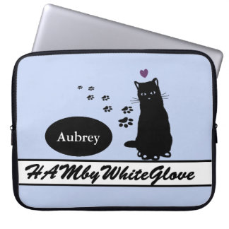 HAMbyWG - Neoprene Laptop Sleeve - w Cat
