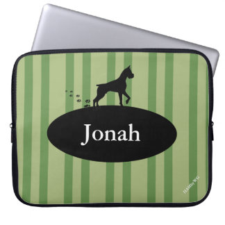 HAMbyWG - Neoprene Laptop Sleeve - w Dog