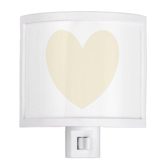 HAMbyWG - Night Light - Beige Heart
