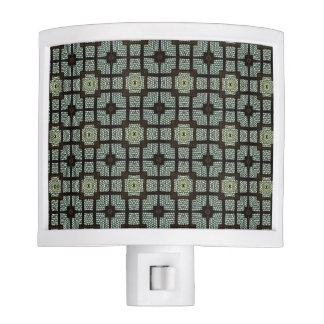 HAMbyWG - Night Light - Deco Stained Glass Aqua