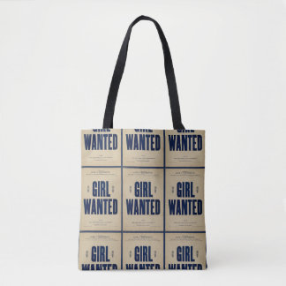 HAMbyWG - Novelty Tote Bag - Girl Wanted