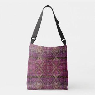 HAMbyWG - Over the Shoulder - Magenta Indian Crossbody Bag