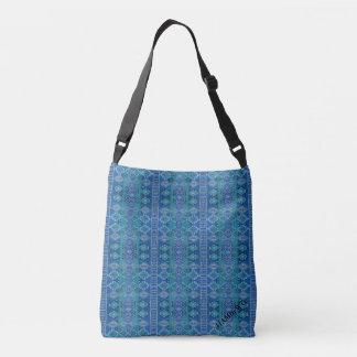 HAMbyWG - Over the Shoulder - Royal Blue Indian Crossbody Bag