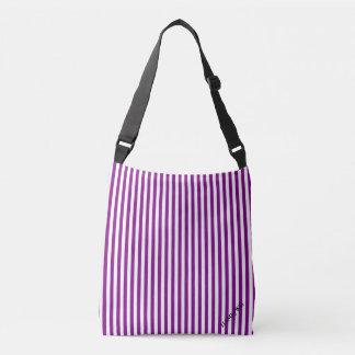 HAMbyWG - Over the Shoulder - Violet/White Crossbody Bag