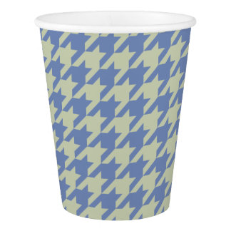 HAMbyWG - Paper Cup - Beige/Any Color Houndstooth